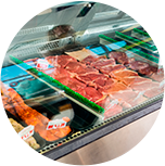Temperature monitoring for meat coolers